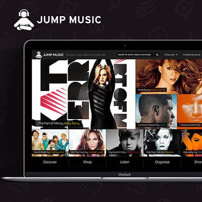 Jump Music Web Application
