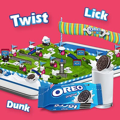 Oreo Land Facebook Game